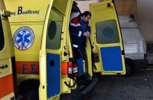 Graikijoje prie privačios televizijos redakcijos sprogo galinga bomba