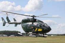 Pasieniečių sraigtasparnis iš Šiaulių į Vilnių skraidino donoro širdį