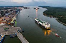 Lietuvai – JAV sveikinimai dėl pirmojo amerikietiškų dujų krovinio