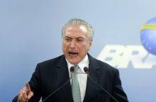 M. Temeras nesieks naujos Brazilijos prezidento kadencijos
