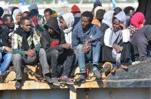 Lietuva iš Italijos turėjo perimti 322 migrantus, o priimta vos 17