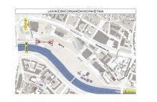 Dėl planuotų darbų Upės gatvėje – laikini eismo pokyčiai