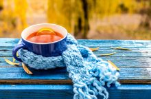 Vėlyvą rudenį – šildančios arbatos puodelis <span style=color:red;>(receptai)</span>