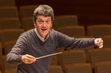 Lietuvoje svečiuosis fenomenalus šveicarų dirigentas