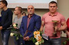 Išrinktas Klaipėdos universiteto metų sportininkas