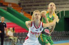 Pirma lietuvių nesėkmė Europos čempionate Kaune – nusileido Rusijai