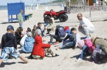 Vaikai domėjosi gelbėtojų darbu