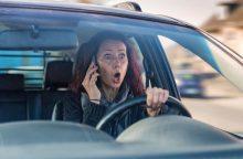 Su vaiku važiavusi girta vairuotoja sukėlė avariją