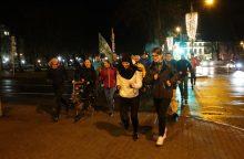 Bėgo už blaivią Lietuvą