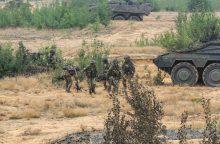 Pabradėje treniruosis beveik 500 karių