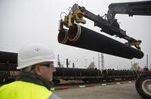 """V. Putinas: """"Nord Stream 2"""" projektas bus įgyvendintas"""