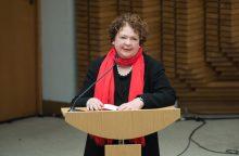 Prezidentė pasveikino poetę V. Palčinskaitę jubiliejaus proga