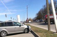 """Netoli """"Urmo"""" į avariją skubėjo ir policija, ir ugniagesiai"""