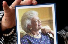 B. Bush – pirmoji JAV ponia ir visos tautos močiutė