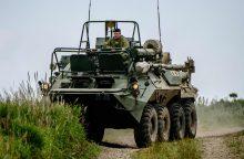 J. Stoltenbergas ir S. Lavrovas aptarė karines pratybas ir situaciją Ukrainoje