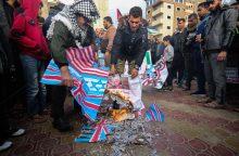 """JT atmetė JAV pasiūlymą pasmerkti palestiniečių """"Hamas"""""""