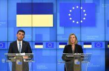 F. Mogherini patenkinta ES ir Ukrainos bendravimu