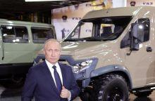 V. Putinas įsakė iš Sirijos išvesti dalį rusų pajėgų