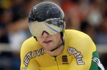 Dviratininkas V.Lendel – geriausių pasaulio sprinterių dešimtuke