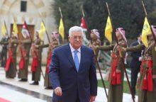 Jungtinėse Tautose palestiniečių lyderis surems ietis su JAV dėl Jeruzalės