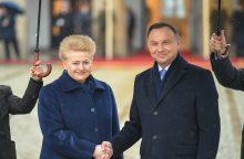 D. Grybauskaitė Liubline paminės unijos metines ir aplankys karius