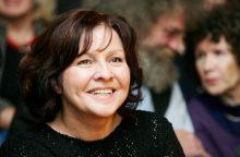 Nacionalinės premijos laureatė E. Gabrėnaitė: galinčių būti aktoriais yra mažai
