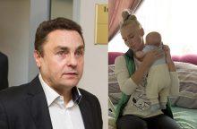 Seimo narys P. Gražulis penktą kartą tapo tėvu?