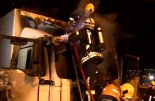 Pilaitės prospekte Vilniuje atvira liepsna degė automobilis