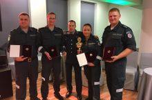 Išrinkta geriausia policijos pareigūnų komanda