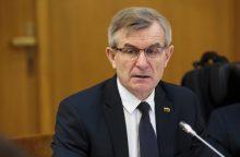 Seimo pirmininkas liudys politinės korupcijos tyrimo komisijai