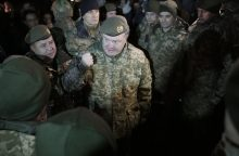 P. Porošenka: įstatymo dėl Rytų Ukrainos raidė neprieštarauja Minsko susitarimui