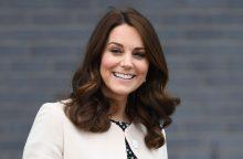 Princo Williamo žmonai Kate prasidėjo gimdymas