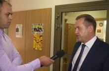"""A. Skardžius pratrūko: už nepatogius klausimus žurnalistą išvadino """"mėšliumi"""""""