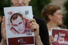 JAV paragino Rusiją paleisti O. Sencovą ir kitus kalinamus ukrainiečius