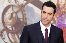 """""""Boratas"""" naujame žadą atimančiame seriale aštriai pašiepia politiką"""