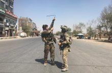 Neramumai Afganistane: sostinė atakuota raketomis, vyksta susirėmimai <span style=color:red;>(papildyta)</span>