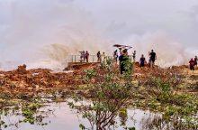 Susilpnėjo per Australijos šiaurės vakarus praslinkęs ciklonas