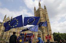 """Perspėjo: po """"Brexit"""" be sutarties Jungtinei Karalystei gali pristigti vaistų"""
