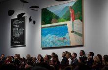 Britų legendos D. Hockney paveikslas parduotas už rekordinius 90 mln. dolerių