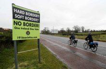 """ES atstovas perspėjo britus: jei nebus """"Brexit"""" susitarimo, atsiras Airijos siena"""