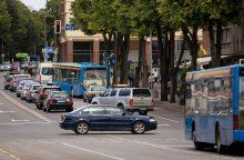 Darnaus judumo planui Klaipėdoje – žalia šviesa