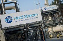 """Kremlius: sankcijomis """"Nord Stream 2"""" projektui būtų pažeista tarptautinė teisė"""