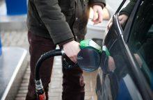 Per mėnesį benzinas degalinėse pabrango 6 proc., brango ir kiti degalai