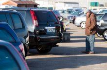 Naudotų automobilių ir jų atliekų srautas nemažėja