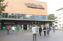 Incidentas Klaipėdoje: garai sutrikdė parduotuvės darbą
