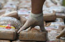 Ispanų ir portugalų policija konfiskavo stambią kokaino siuntą