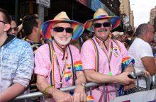 Niujorke vyko tūkstančius dalyvių pritraukęs gėjų paradas