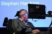 Išleista knyga su garsiojo fiziko S. Hawkingo mintimis