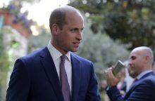 Princas Williamas pradeda vizitą Izraelyje