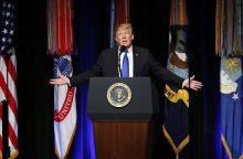 D. Trumpas pristatė naują JAV priešraketinės gynybos strategiją